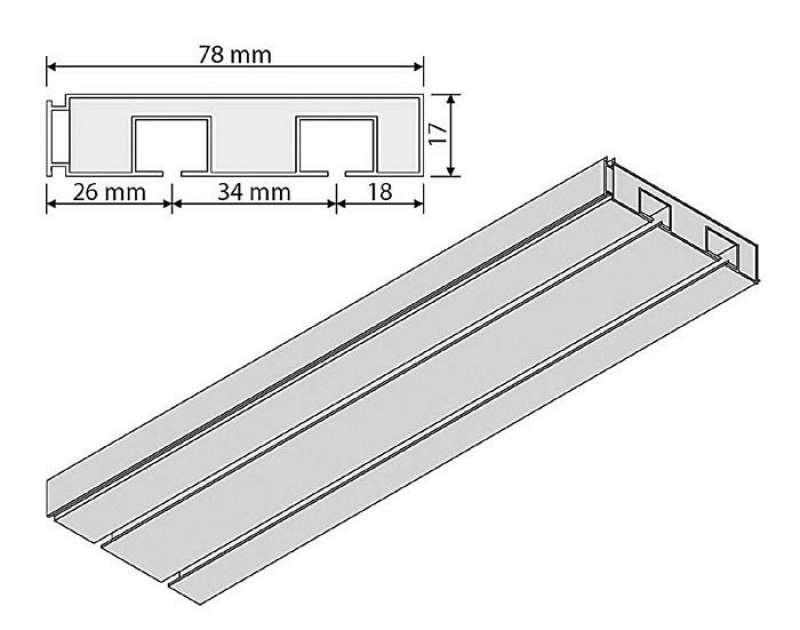 gardinen welt online shop gardinenschiene vorhangschiene. Black Bedroom Furniture Sets. Home Design Ideas