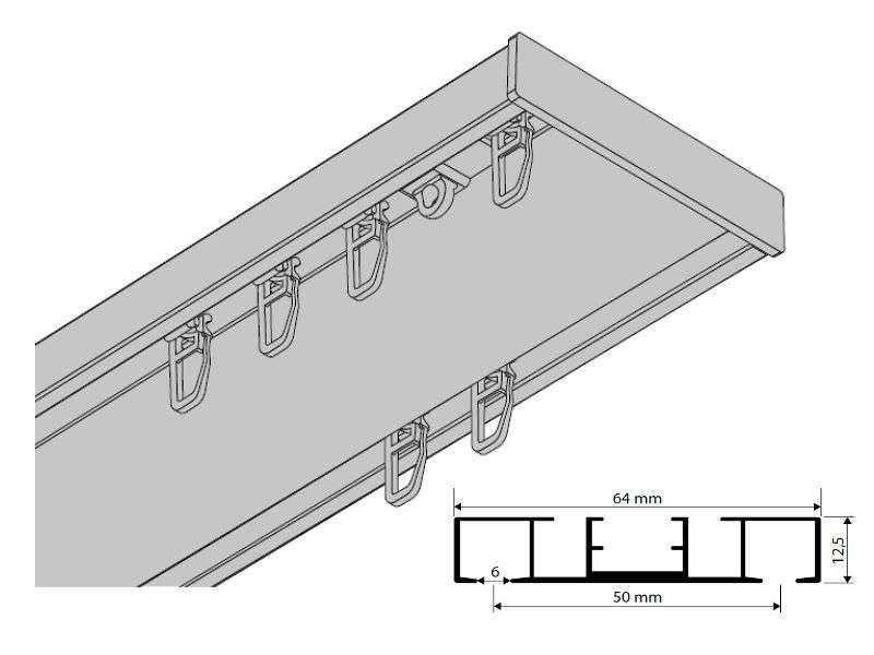 gardinenschiene 2 l ufig best 25 gardinenschiene ideas on. Black Bedroom Furniture Sets. Home Design Ideas