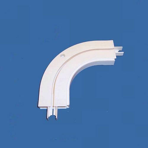 Gardinen-Welt Online Shop - Erkerinnenbogen 90° 1-Lauf für Gardinenschiene,Vorhangschiene